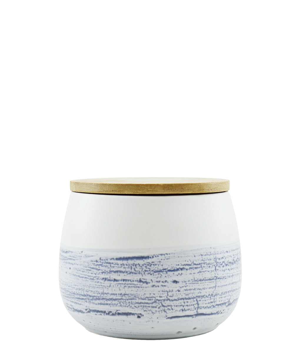 Ciroa Skyline Storage Jar Small - Blue