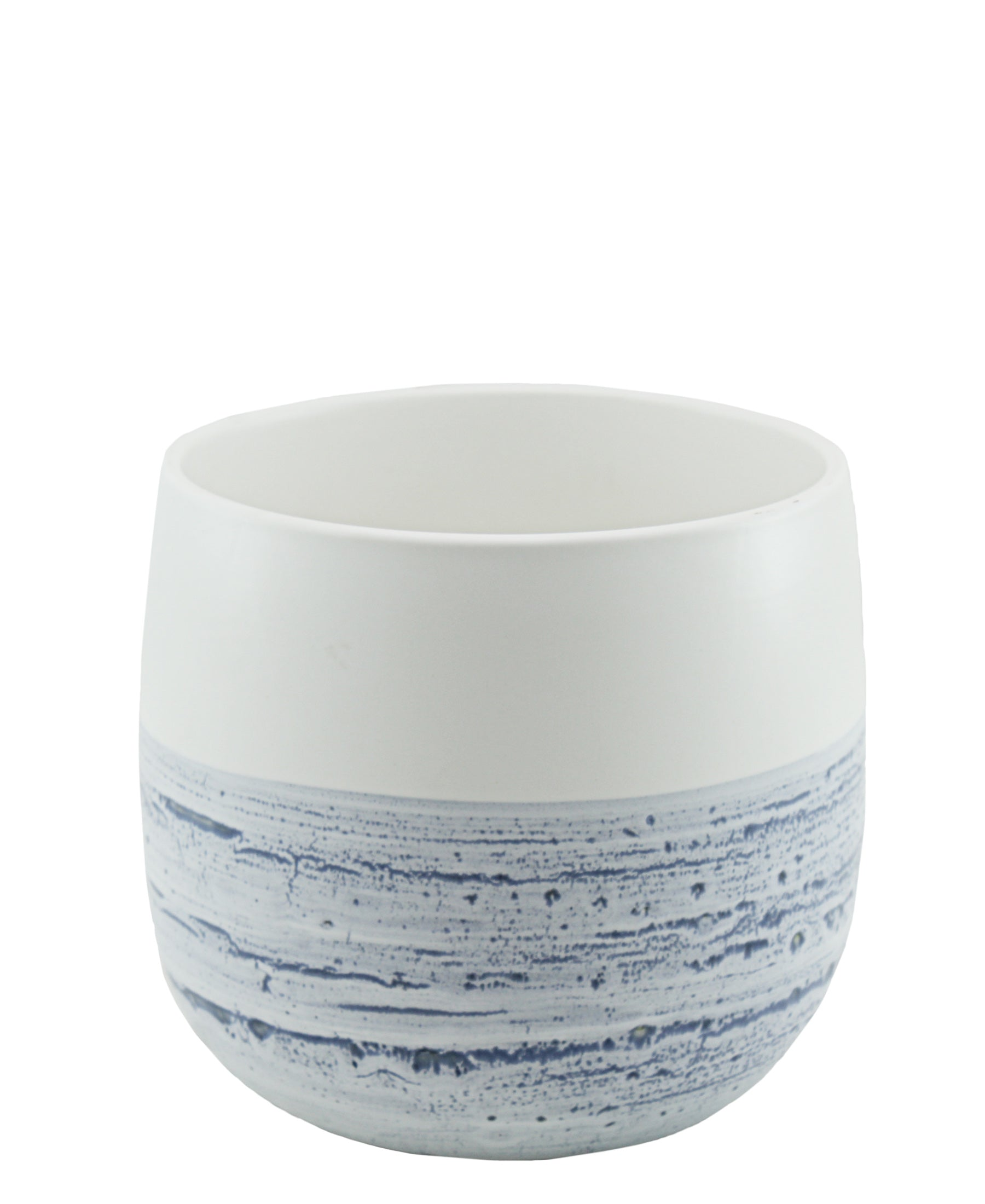 Ciroa Skyline Utensil Crock - Blue