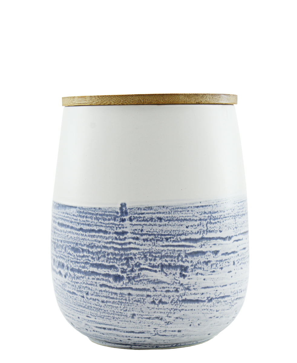 Ciroa Skyline Storage Jar Medium - Blue