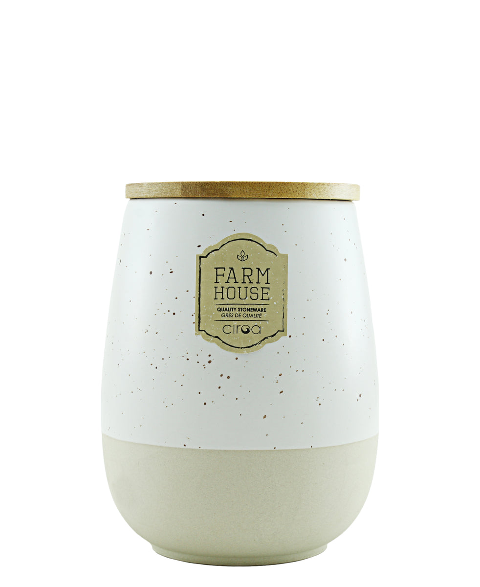 Ciroa Farmhouse Storage Jar - Large