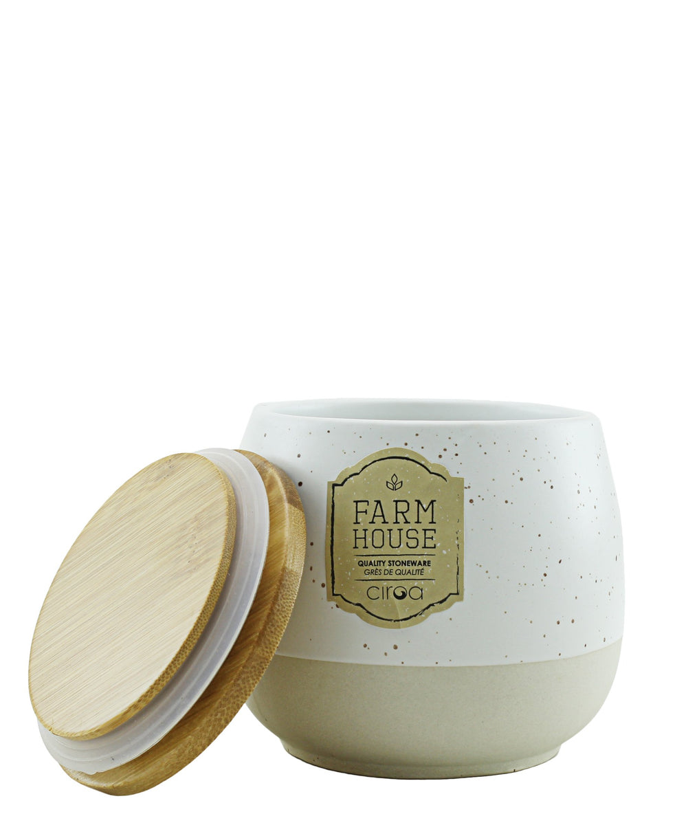 Ciroa Farmhouse Storage Jar - Medium