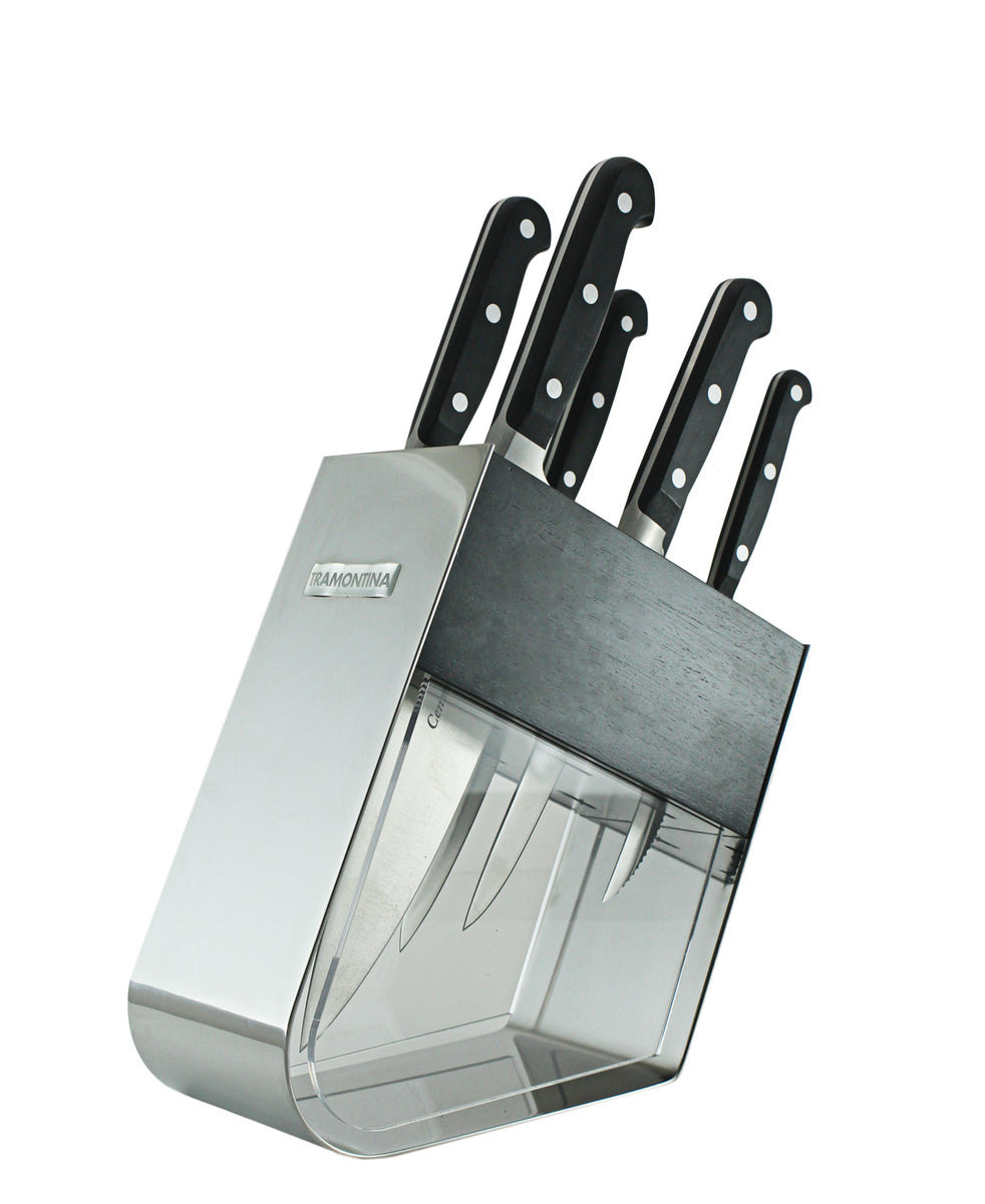 Tramontina Cutlery Set 7 Piece - Black