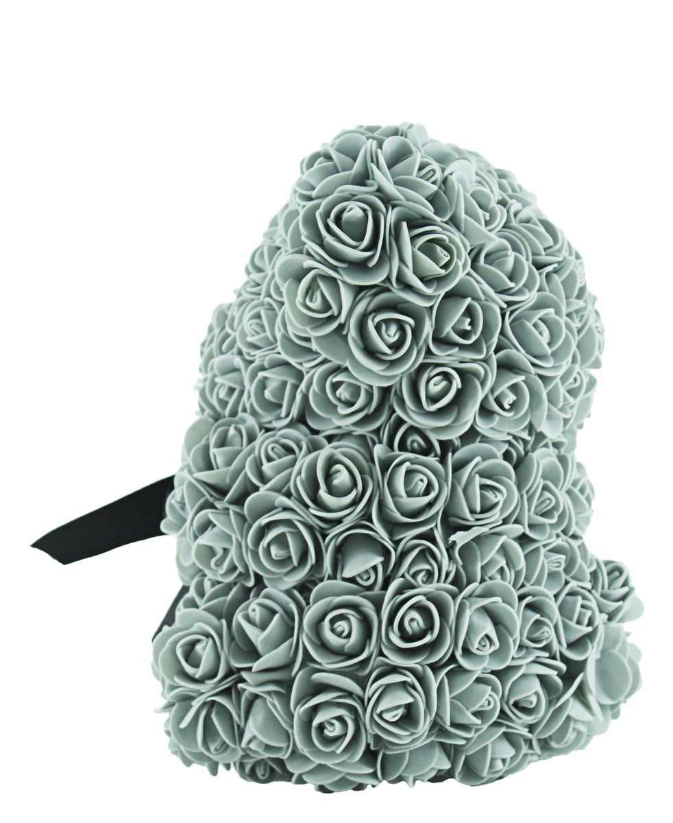 Teddy Floral Teddy Bear - Grey