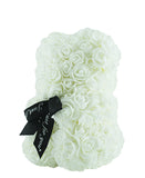 Teddy Floral Teddy Bear - White