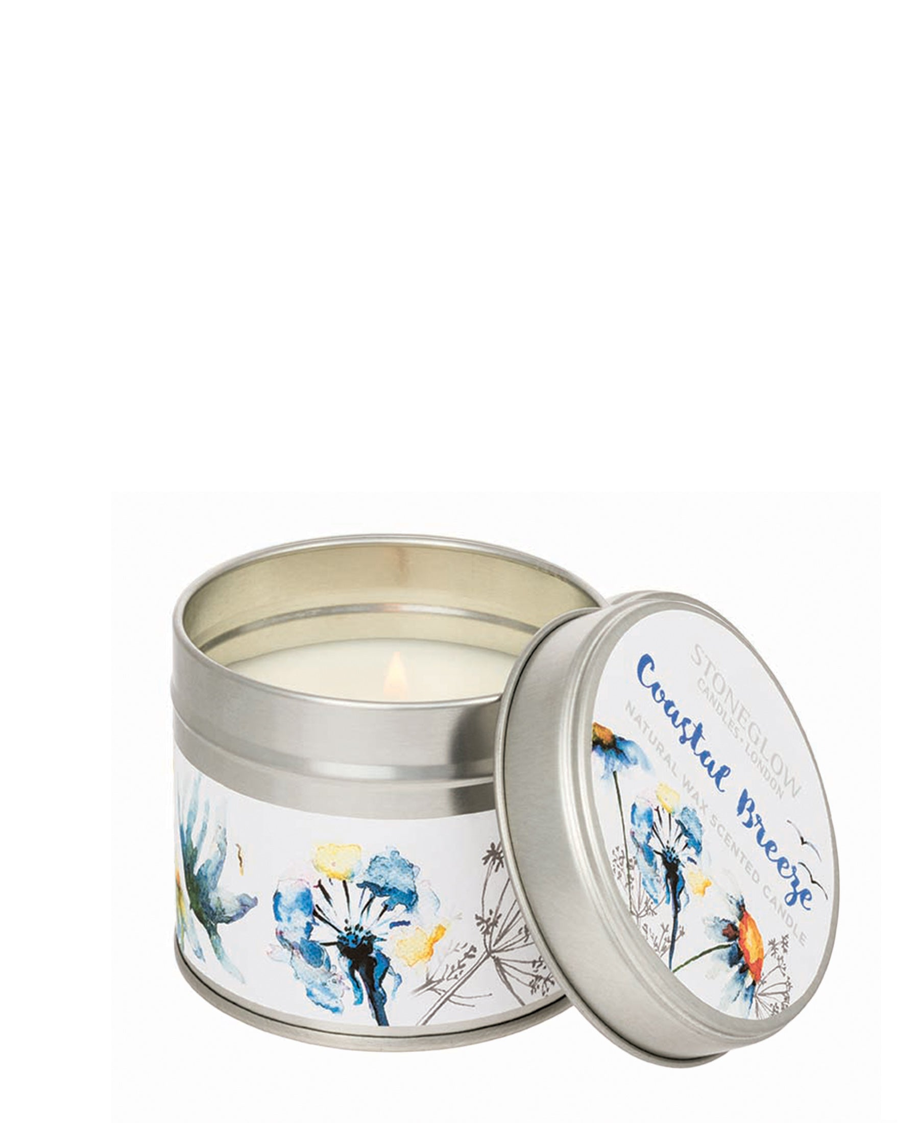 Stoneglow Coastal Breeze Candle Tin