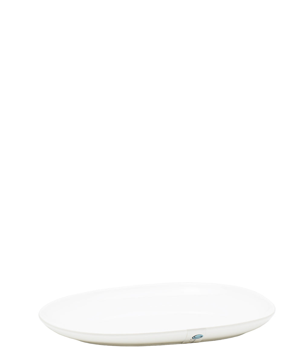 Symphony Pebble Serving Platter 22cm - White