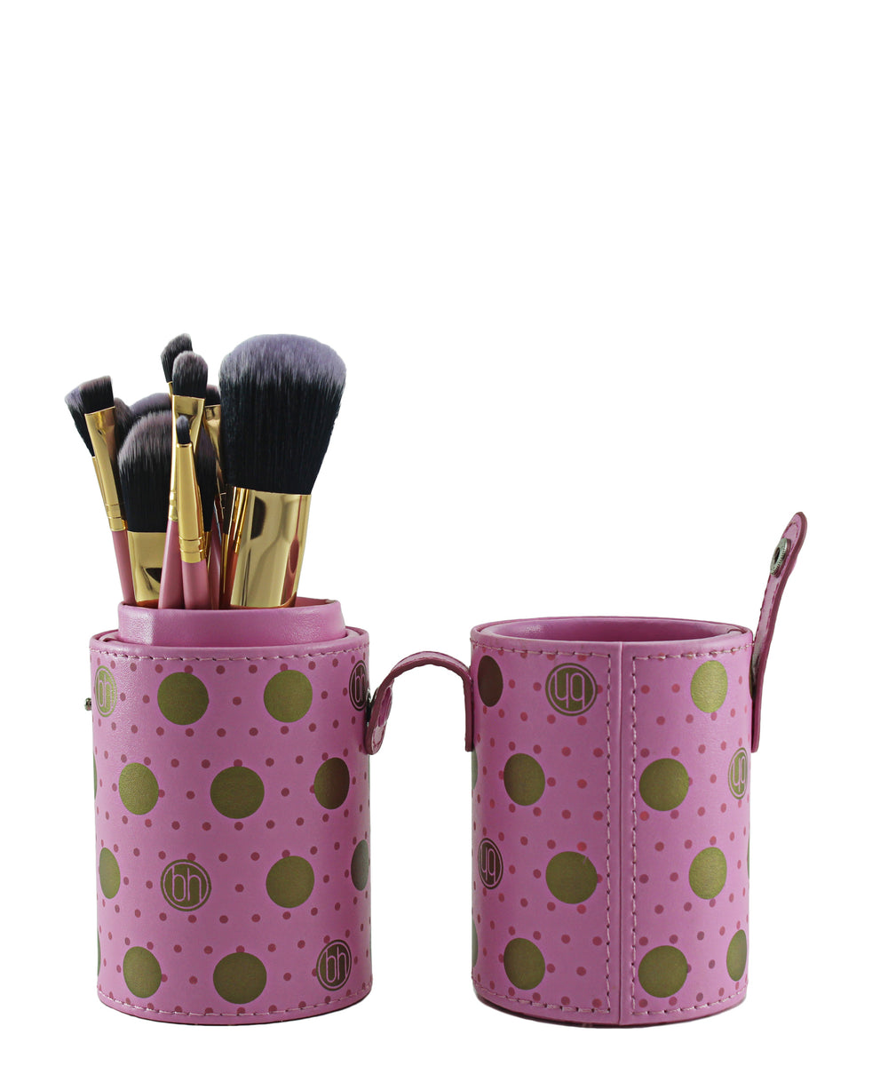 Make Up Brushes 11 Piece - Pink