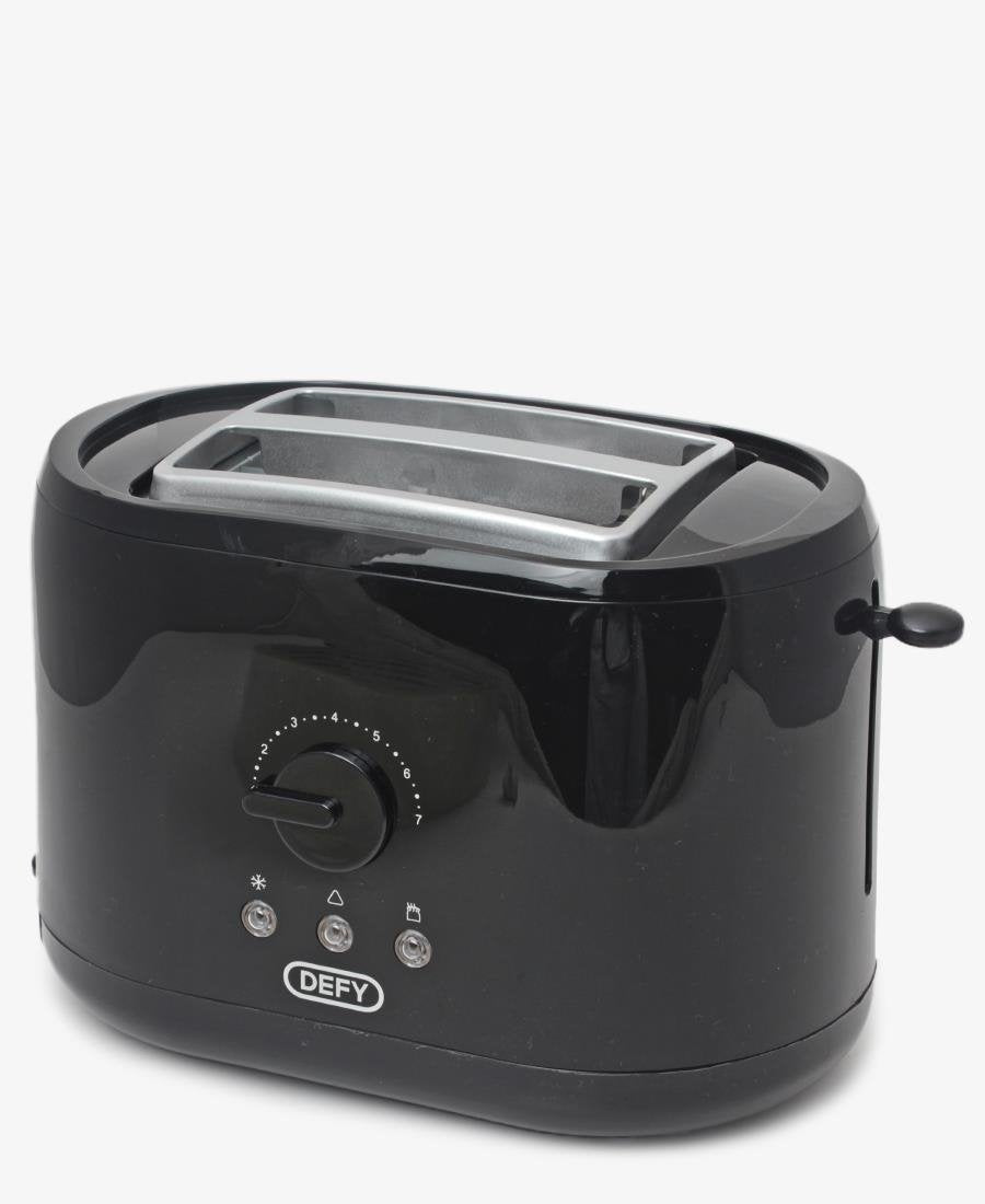 Defy 2 Slice Toaster - Black