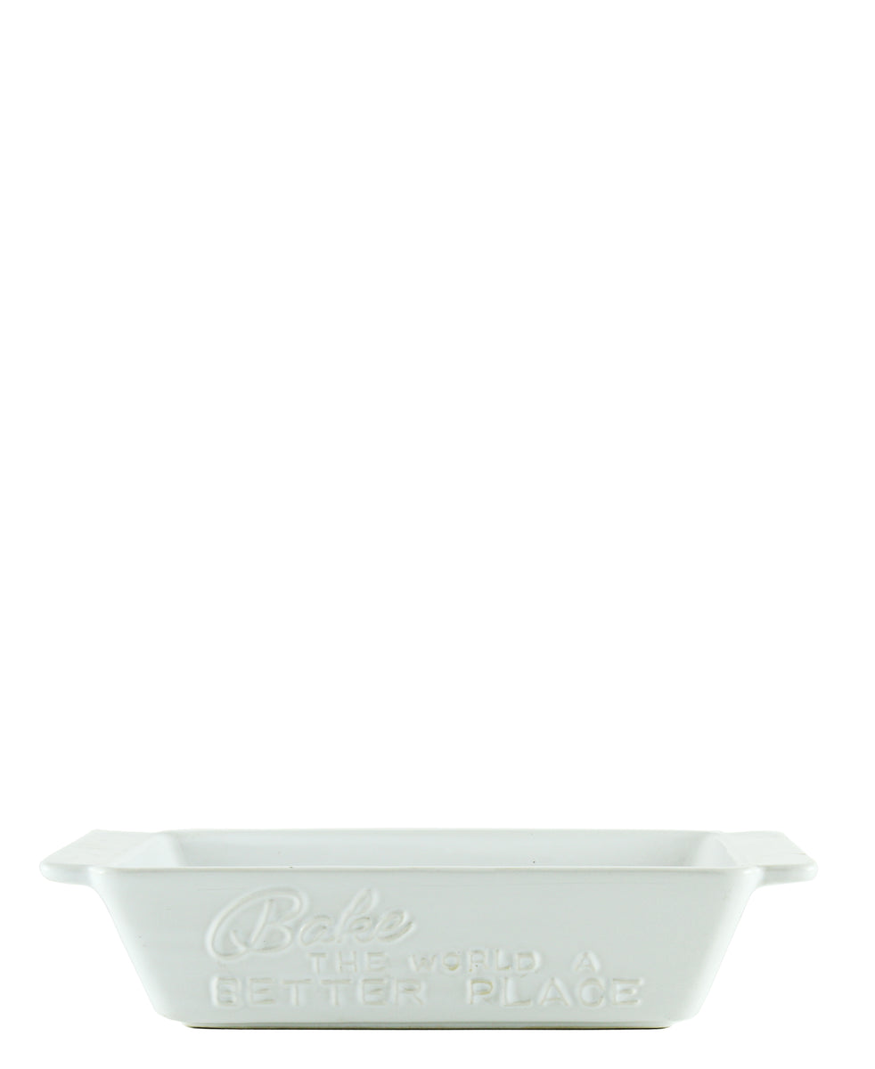 Ciroa Loaf Pan - White