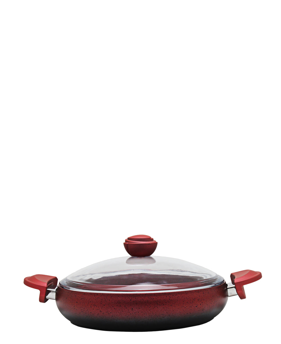 OMS Belly Shaped Pot 28cm - Red