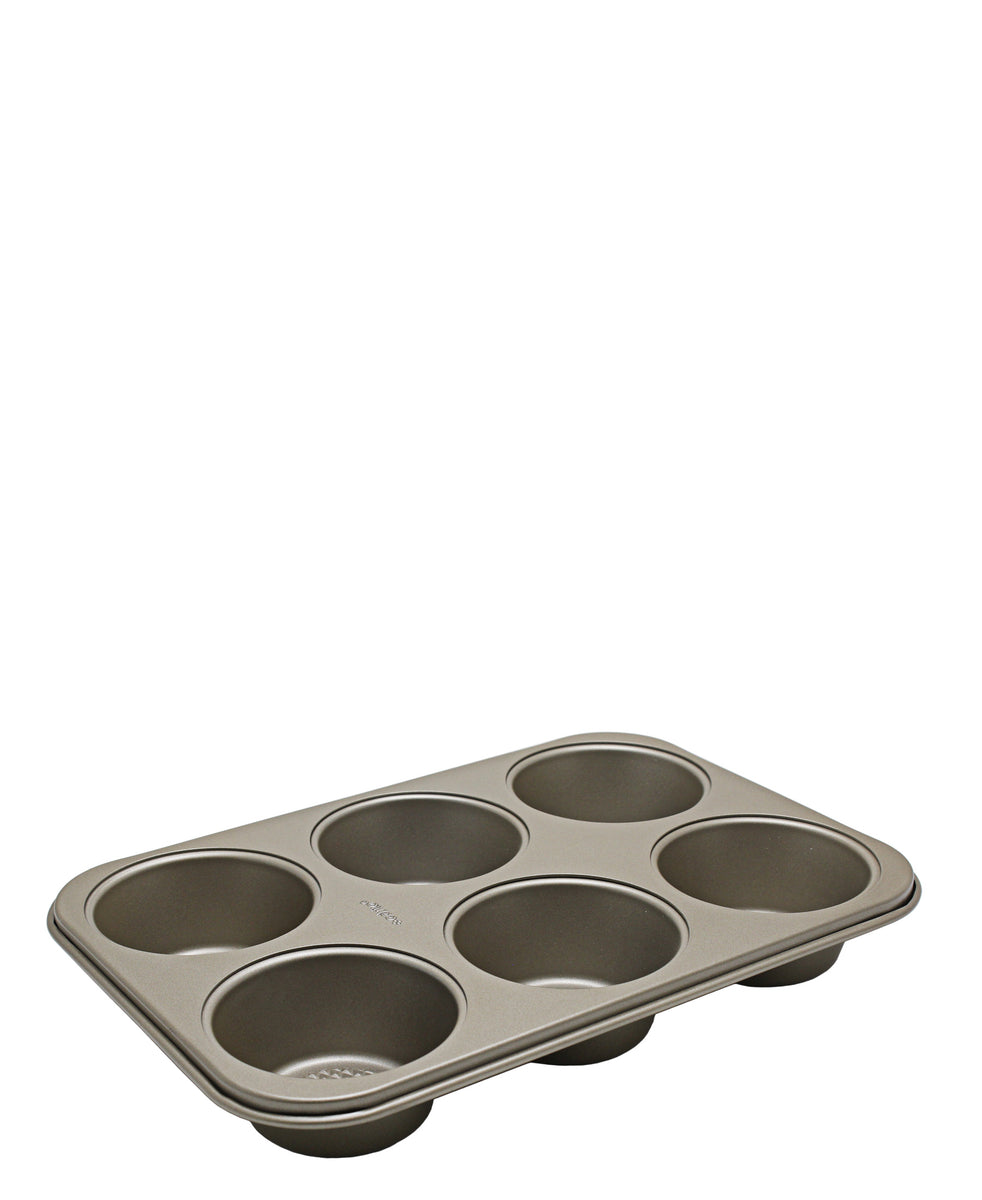 Eetrite 6 Cup Muffin Pan - Black