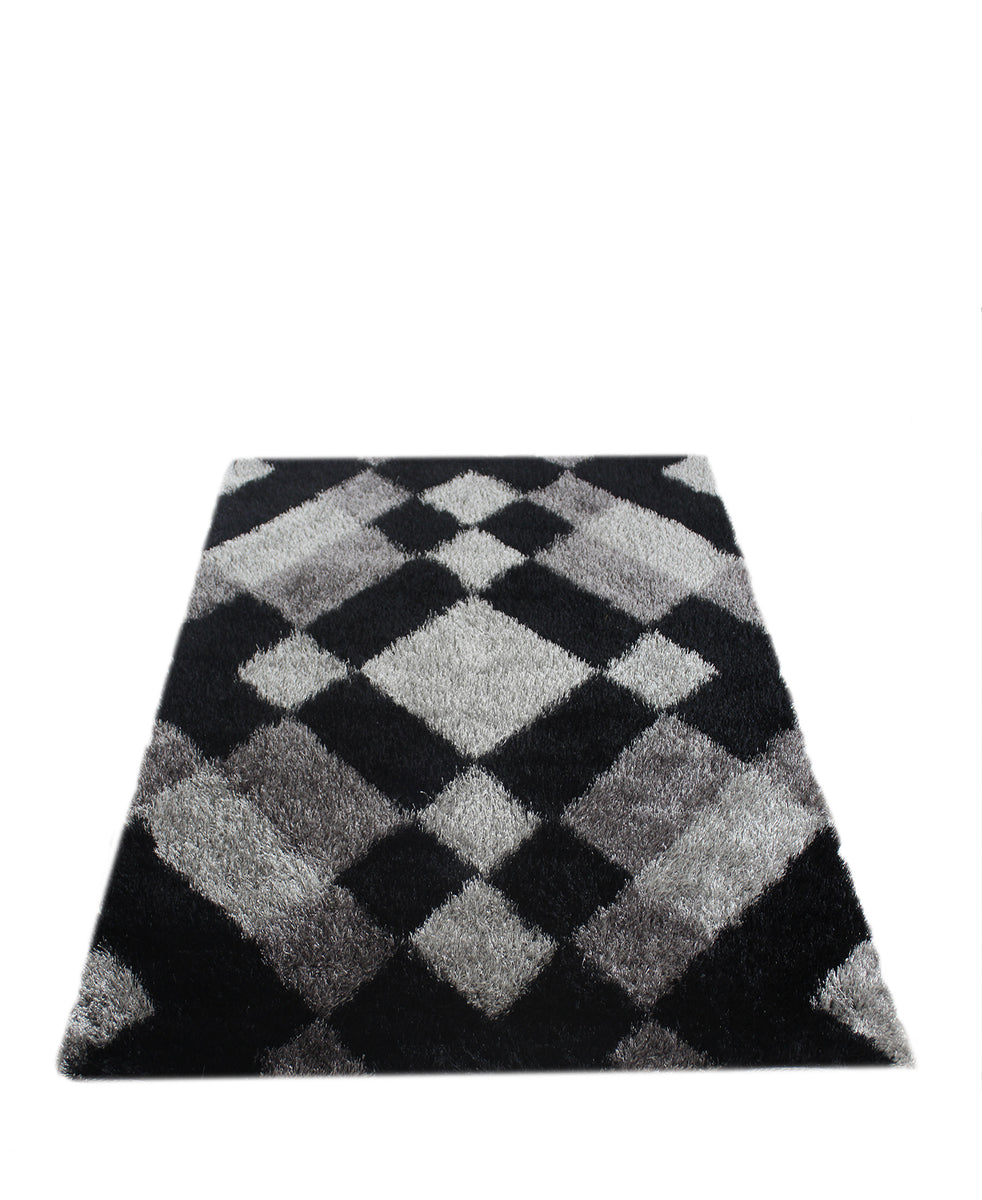 Emporium Shaggy Carpet 1200mm x 1600mm - Black