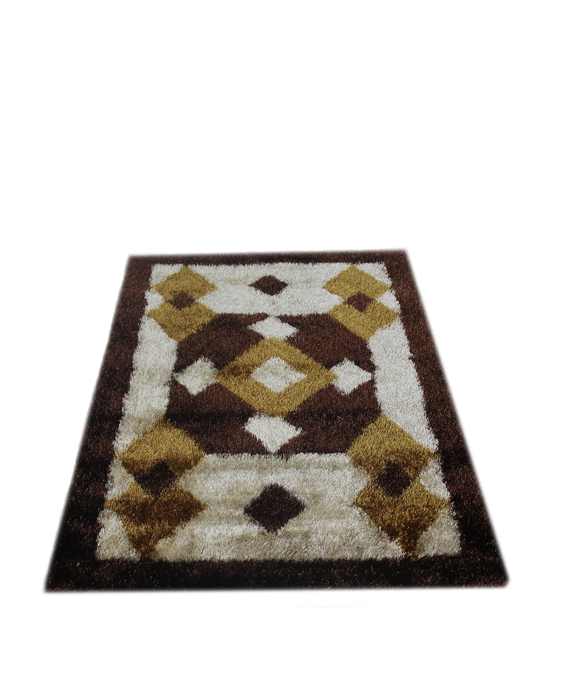 Emporium Shaggy Carpet 1200mm x 1600mm - Brown