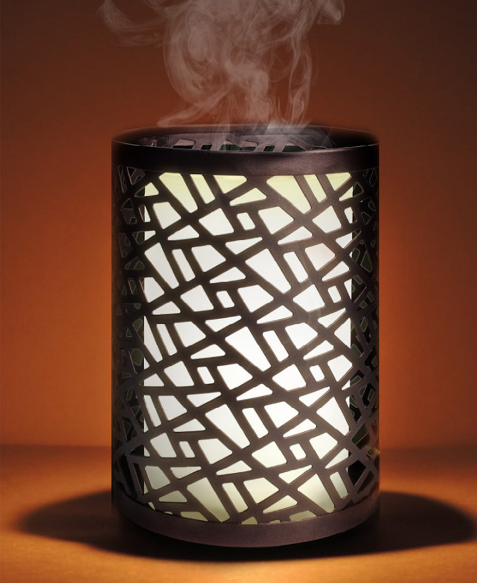 Aura Bohemian Ultrasonic Diffuser - Dark Brown