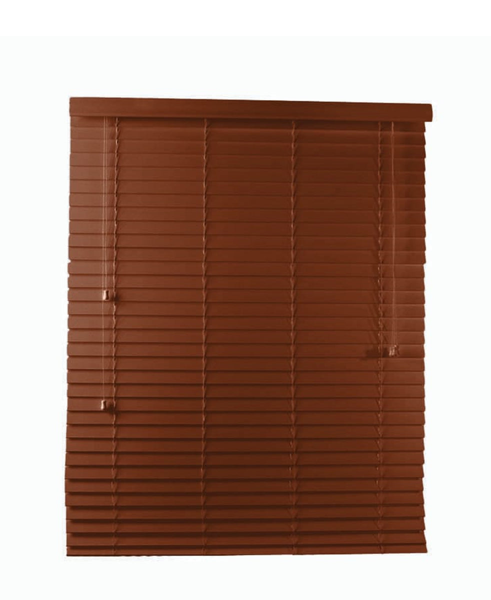 Angelica Blind 1000mm X 1000mm - Mahogany