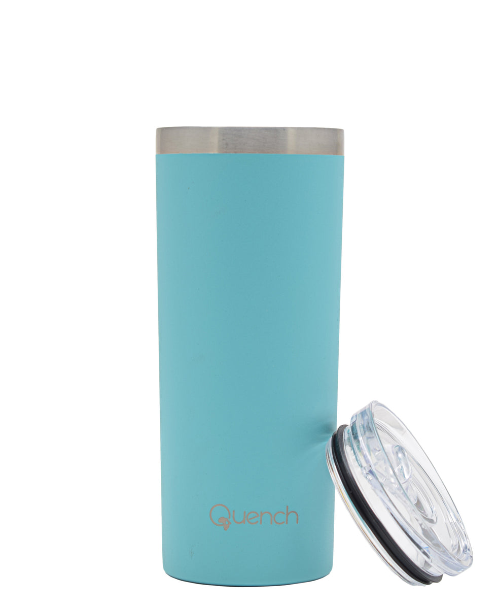 Quench 500ml Stainless Steel Travel Buddy - Baby Blue