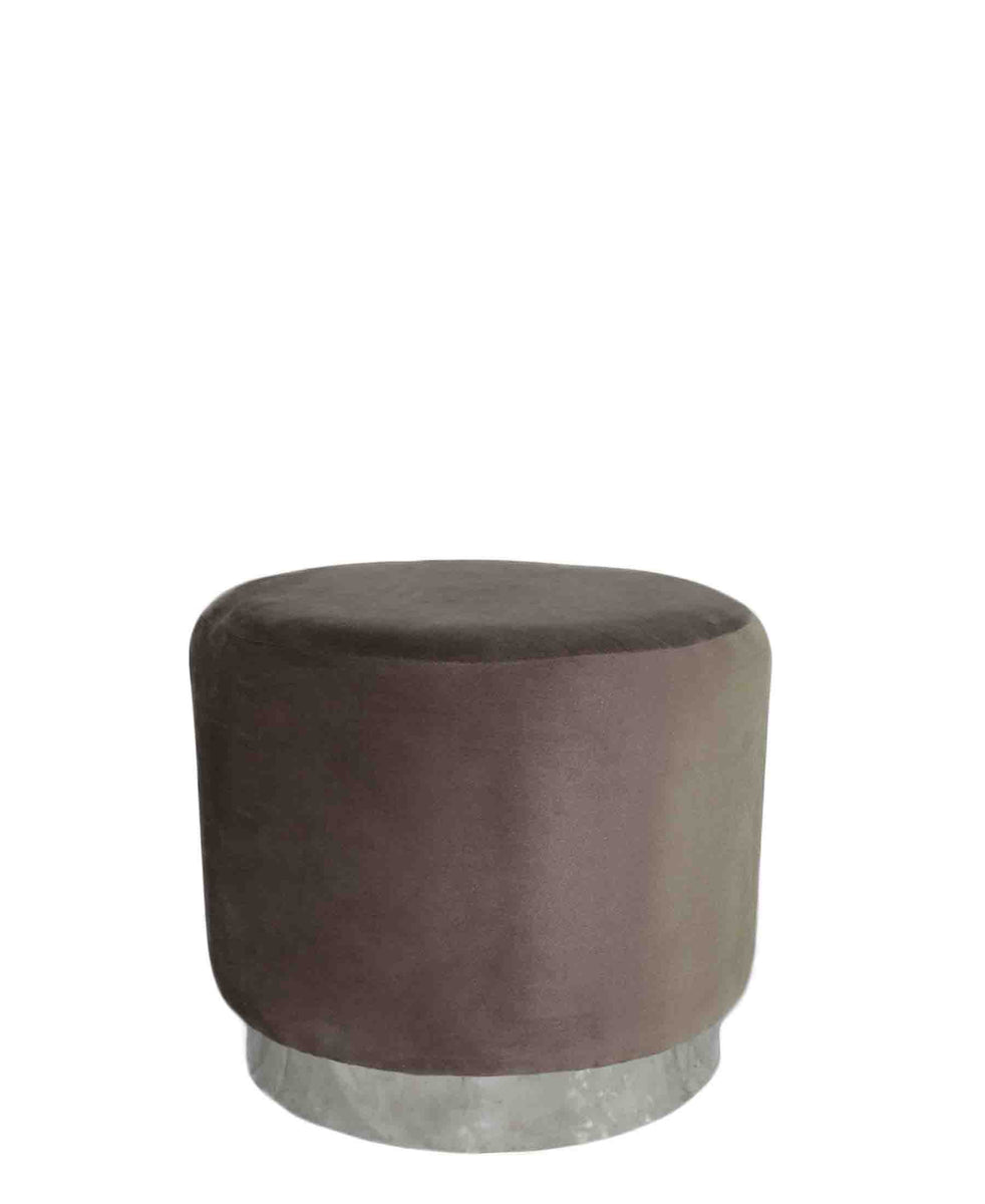 Glamour Ottomans - Brown