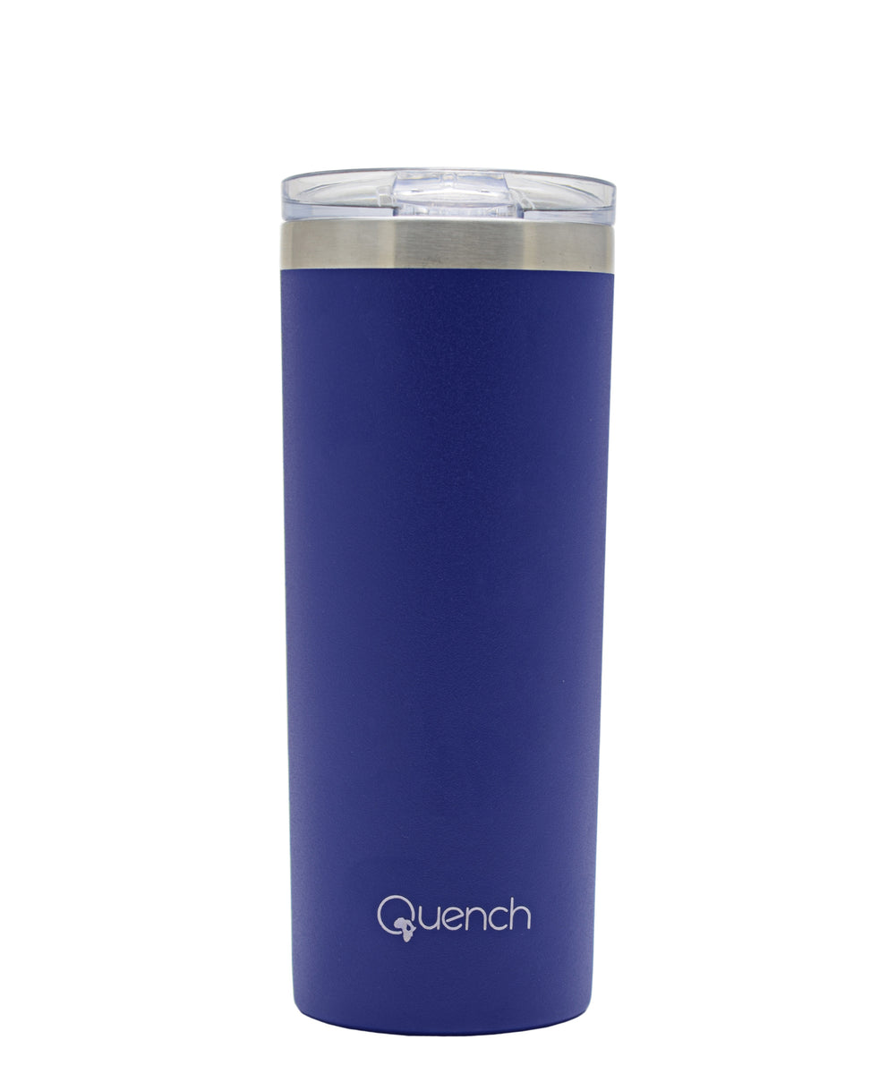 Quench 500ml Stainless Steel Travel Buddy - Blue