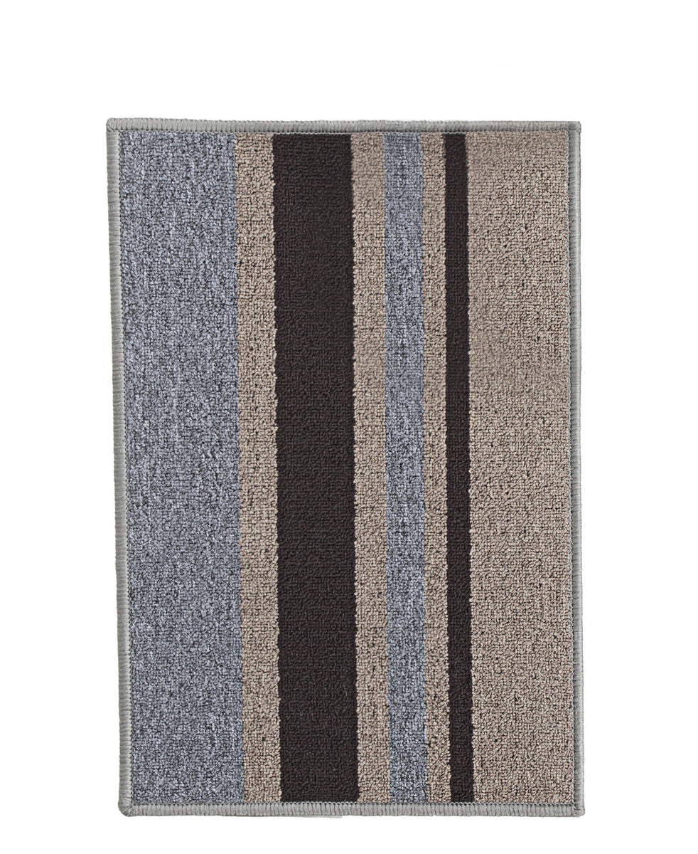 Stefano Vintage Doormat 400mm x 600mm - Grey & Brown