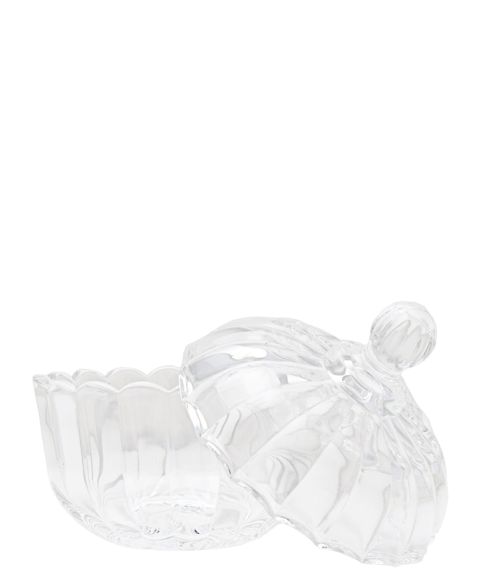 Candy Glass Jar - Clear