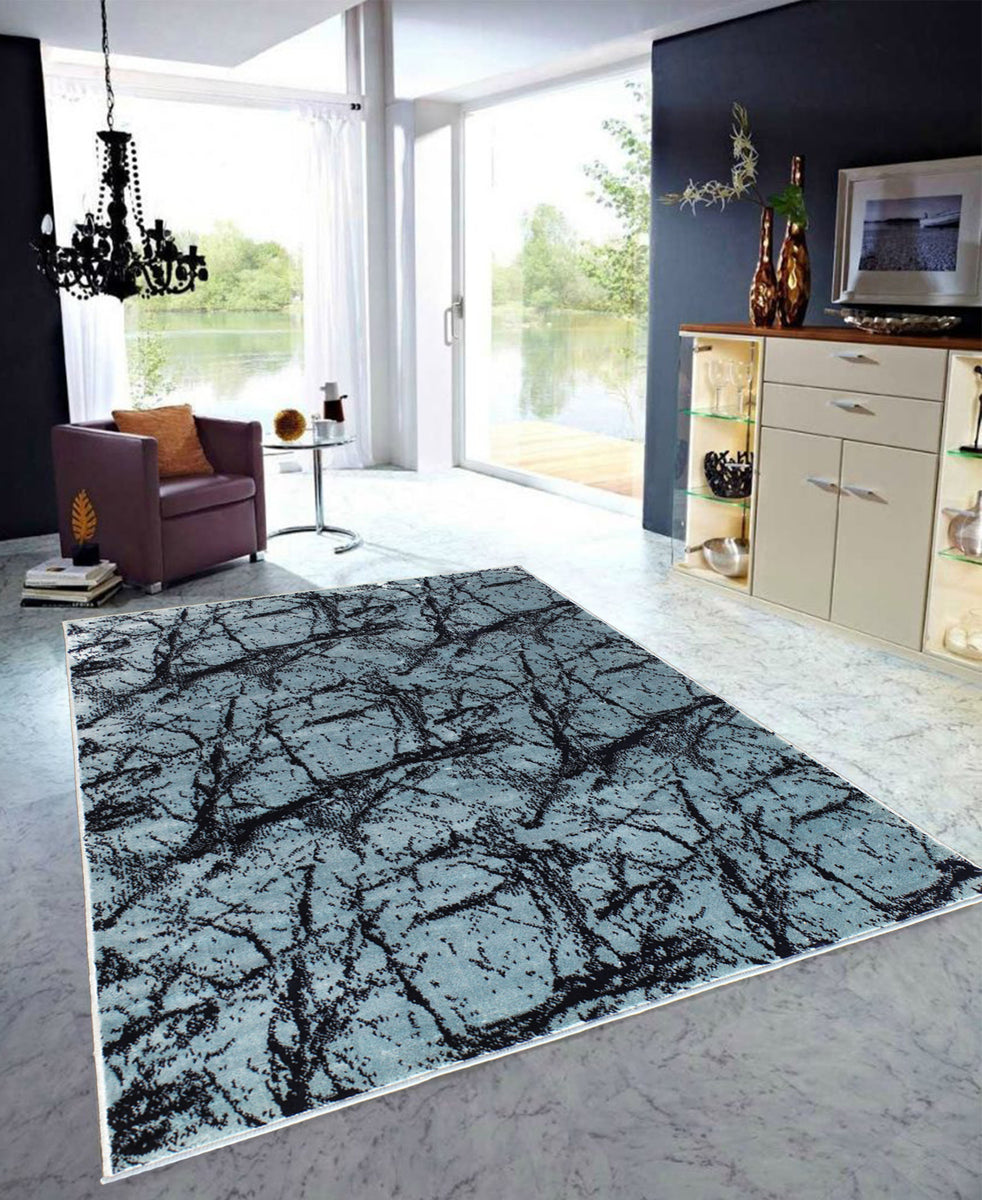 Cape Town Galaxy Carpet 1200mm X 1700mm - Blue