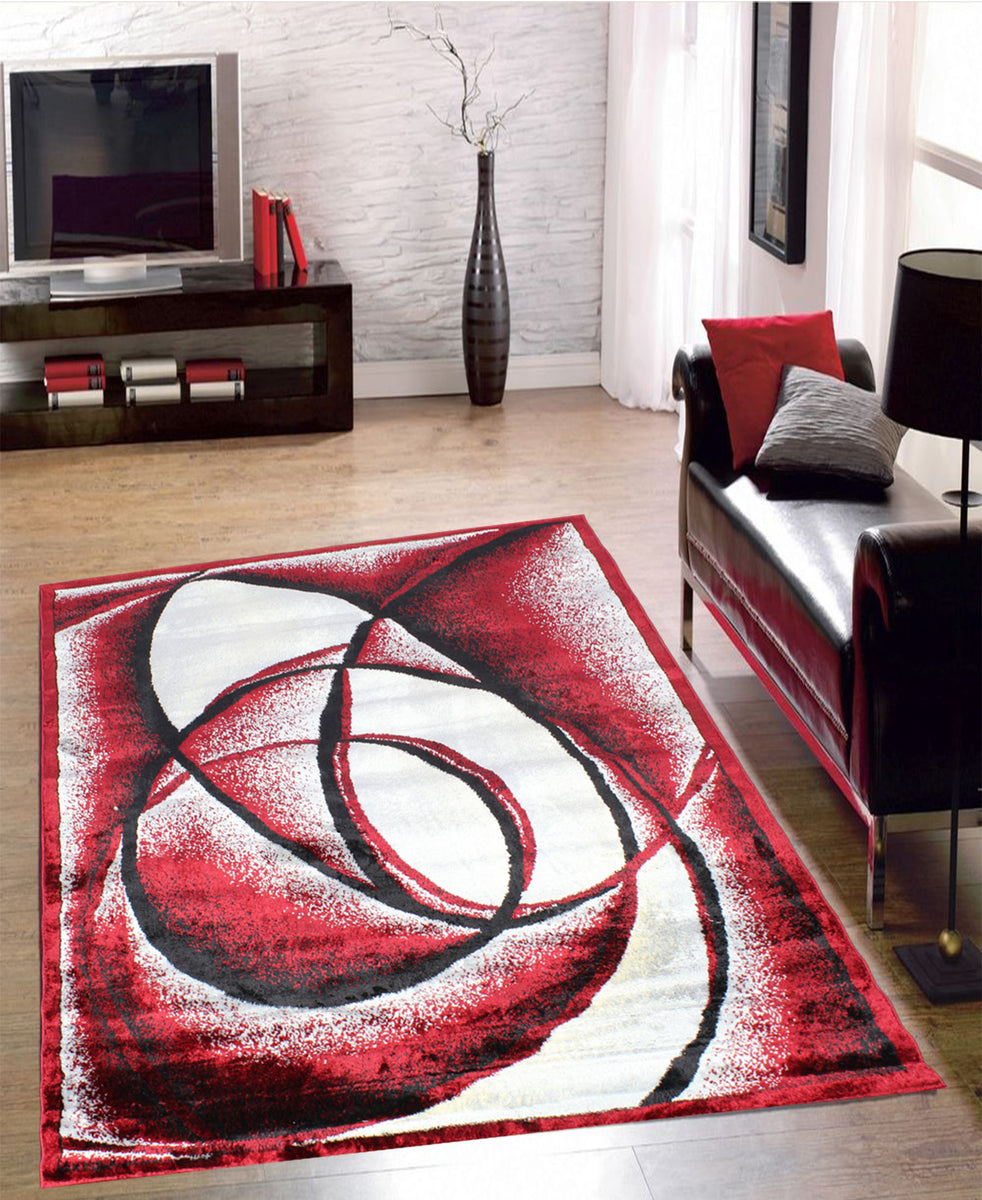 Cape Town Neutron Carpet 1600mm × 2000mm - Red