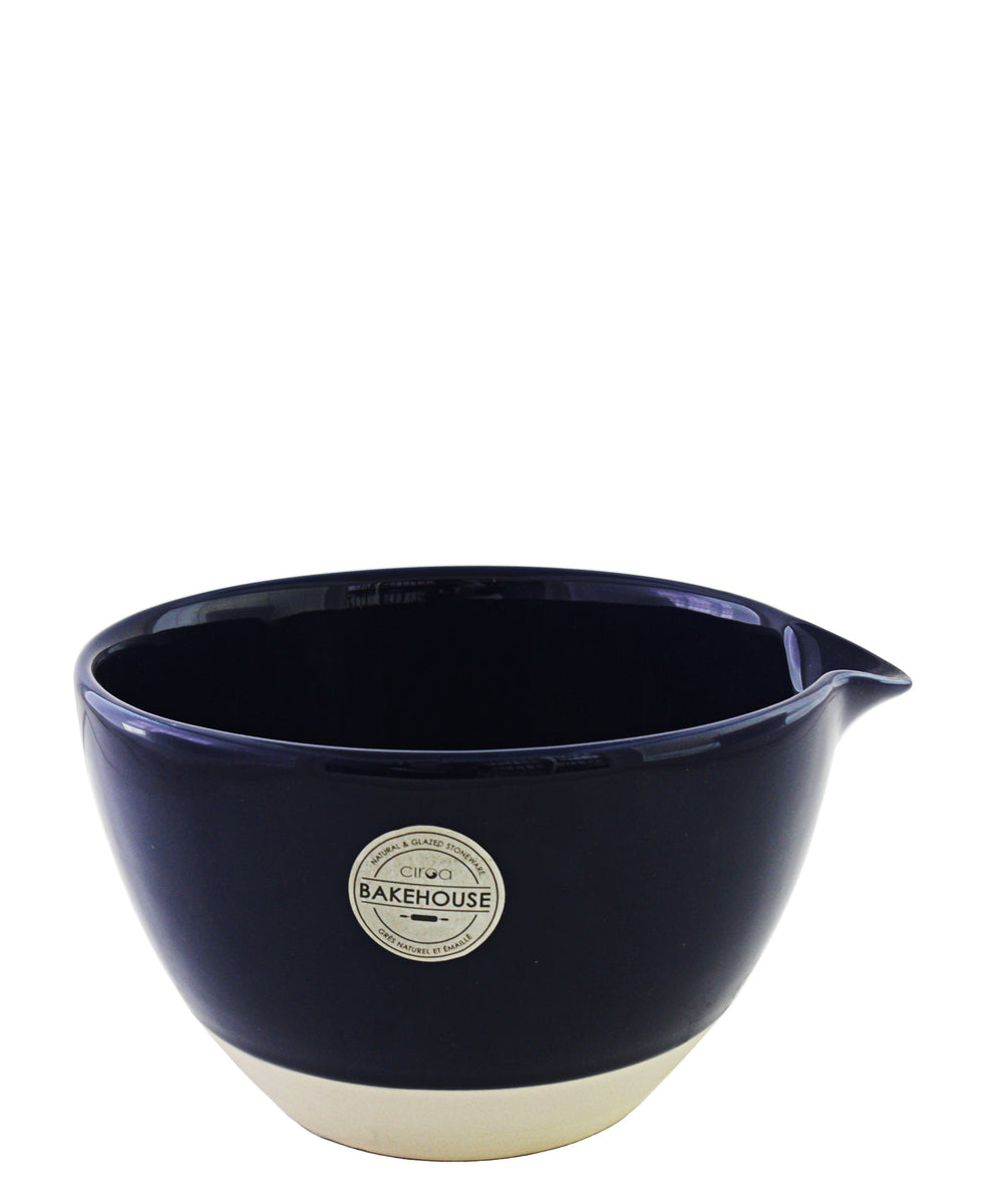 Ciroa Mixing Bowl Navy & Nat