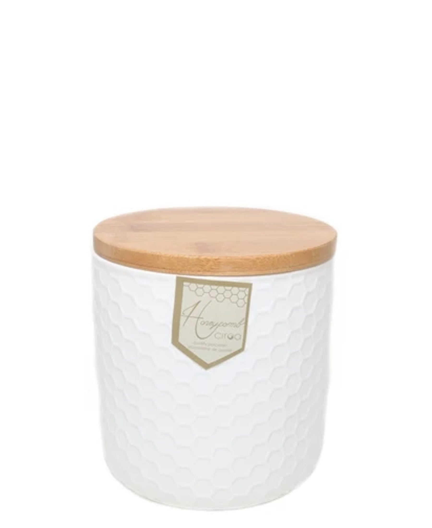 Ciroa Honeycomb Storage jar Large