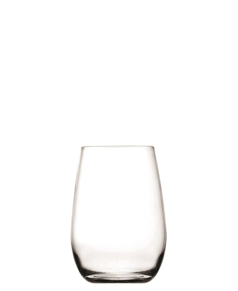 Consol Bordeaux Stemless 480ml Wine Glasses Set Of 4 - Clear