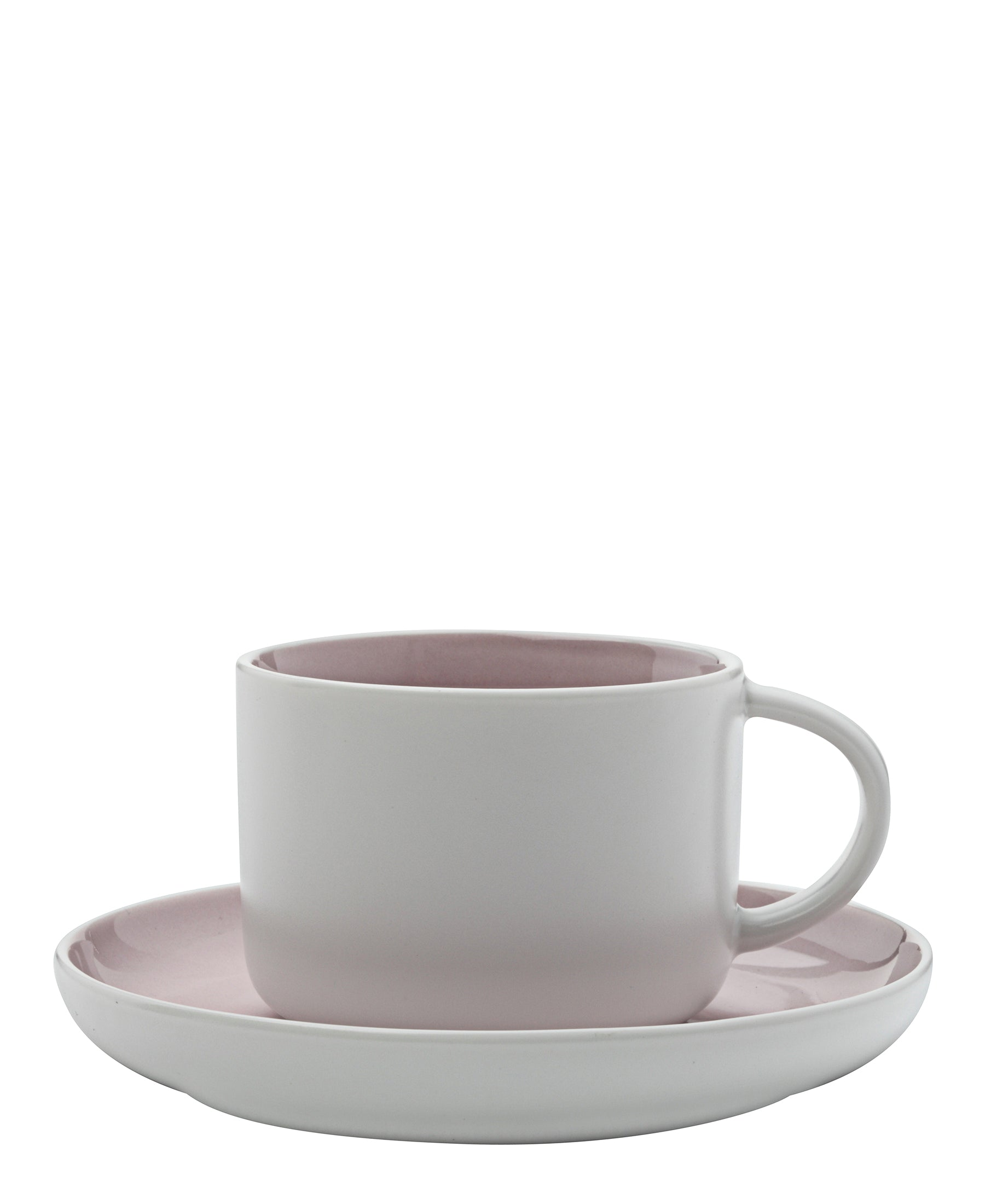 Maxwell & Williams Tint Tea And Saucer Set - Pink