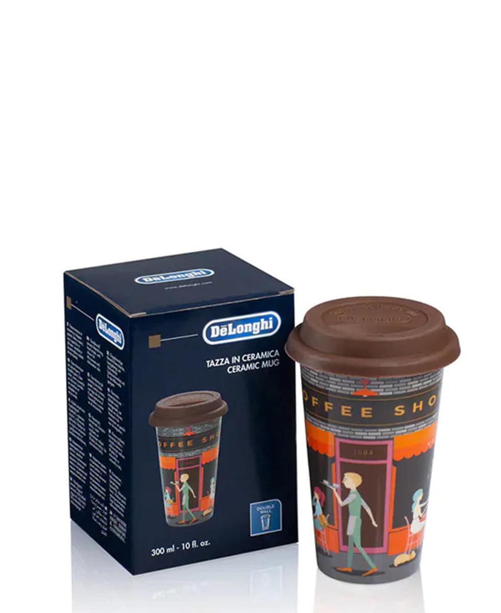 DeLonghi Thermal Coffee Mug - Brown