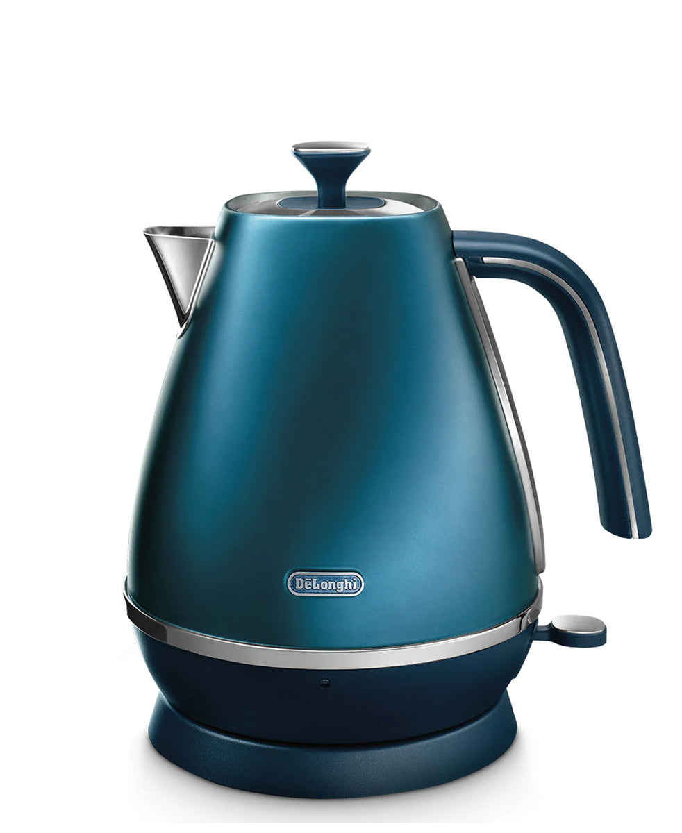 DeLonghi Distinta Flair Cordless Kettle 1.7L - Blue