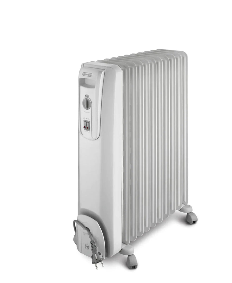 DeLonghi Oil Heater 9 Fin - White