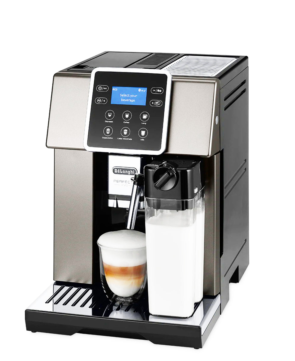 DeLonghi Perfecta Evo Coffee Machine ESAM420.80.TB - Silver