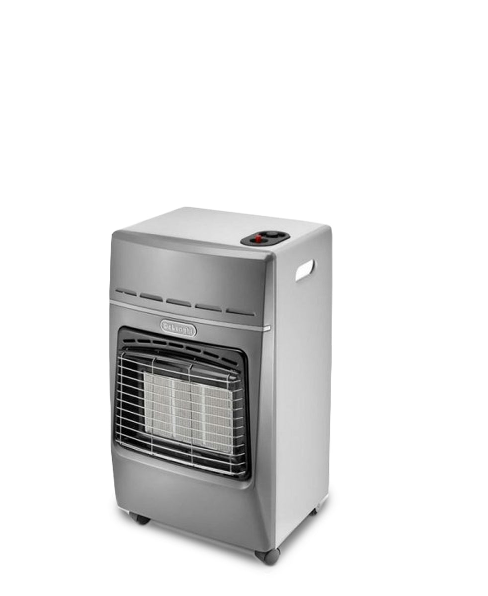 DeLonghi Gas Heater - Steel Grey