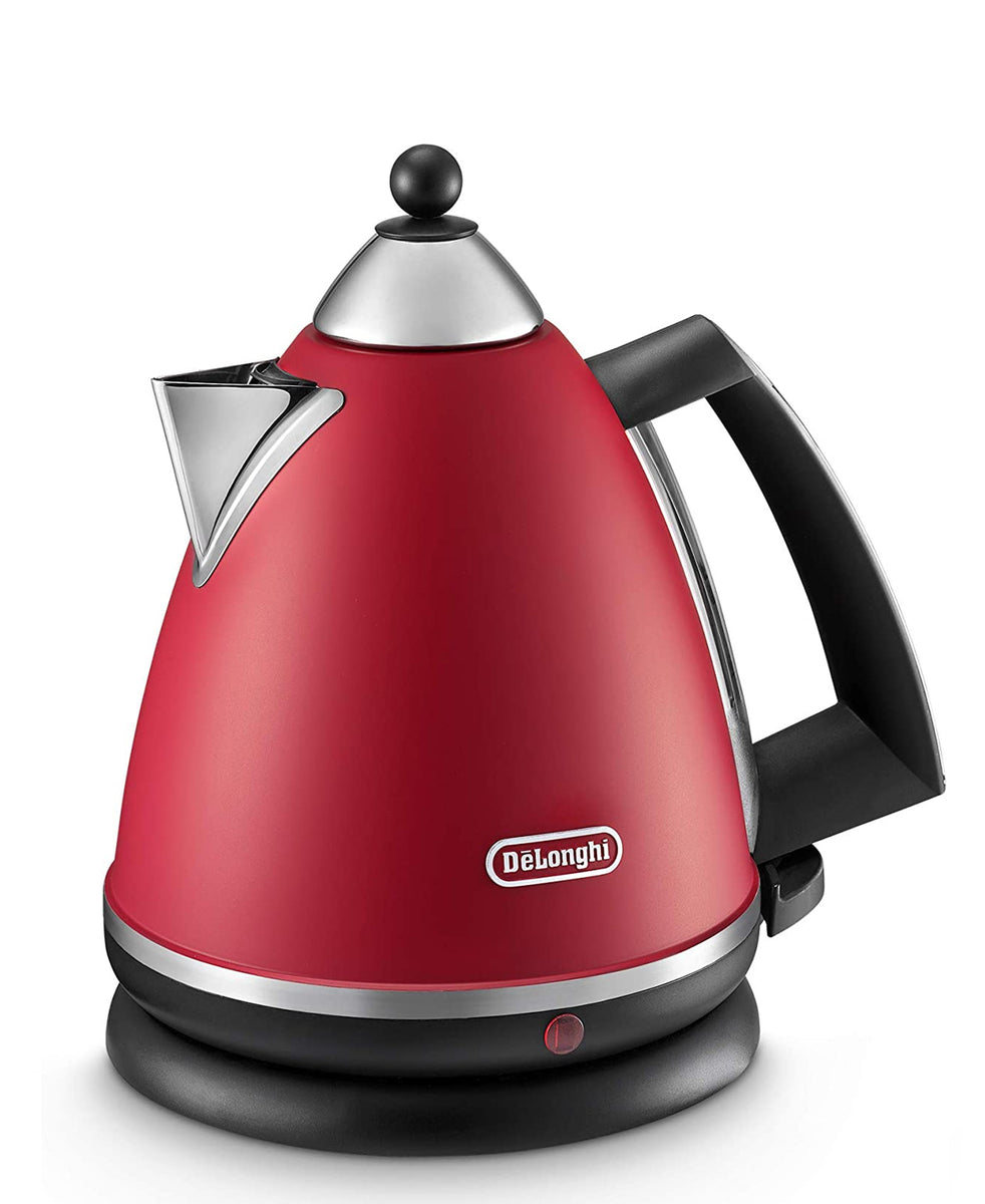 Delonghi Argento 1.7 Electric Kettle - Red
