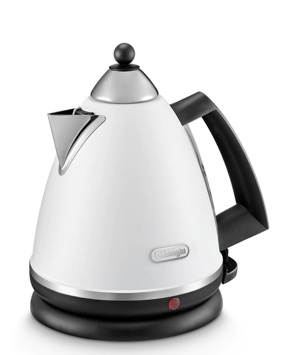 Delonghi Argento 1.7 Electric Kettle - White