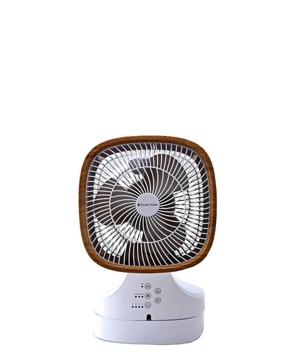 Russell Hobbs Foldabe Desk Fan - White