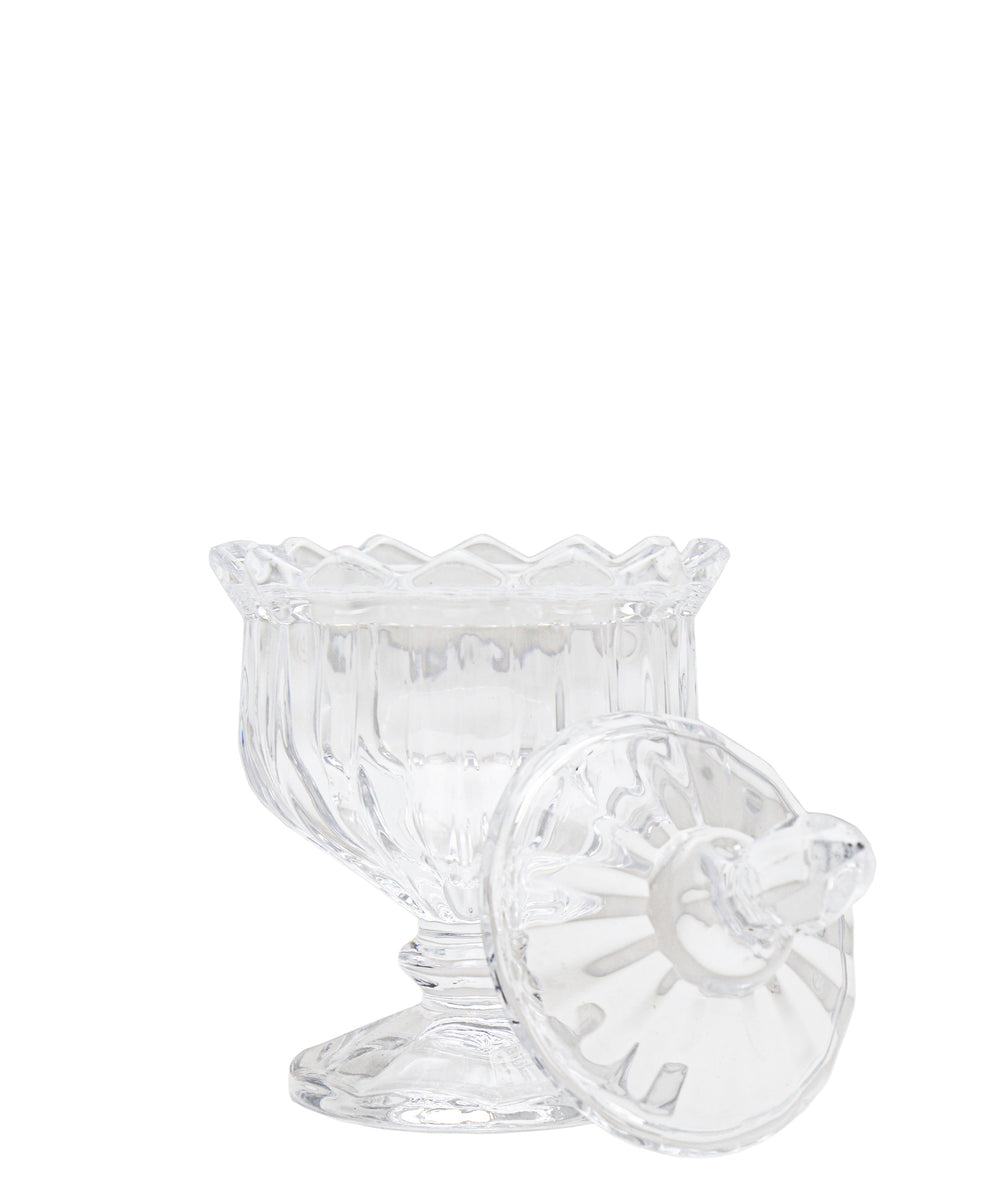 Eetrite Candy Footed Jar - Clear