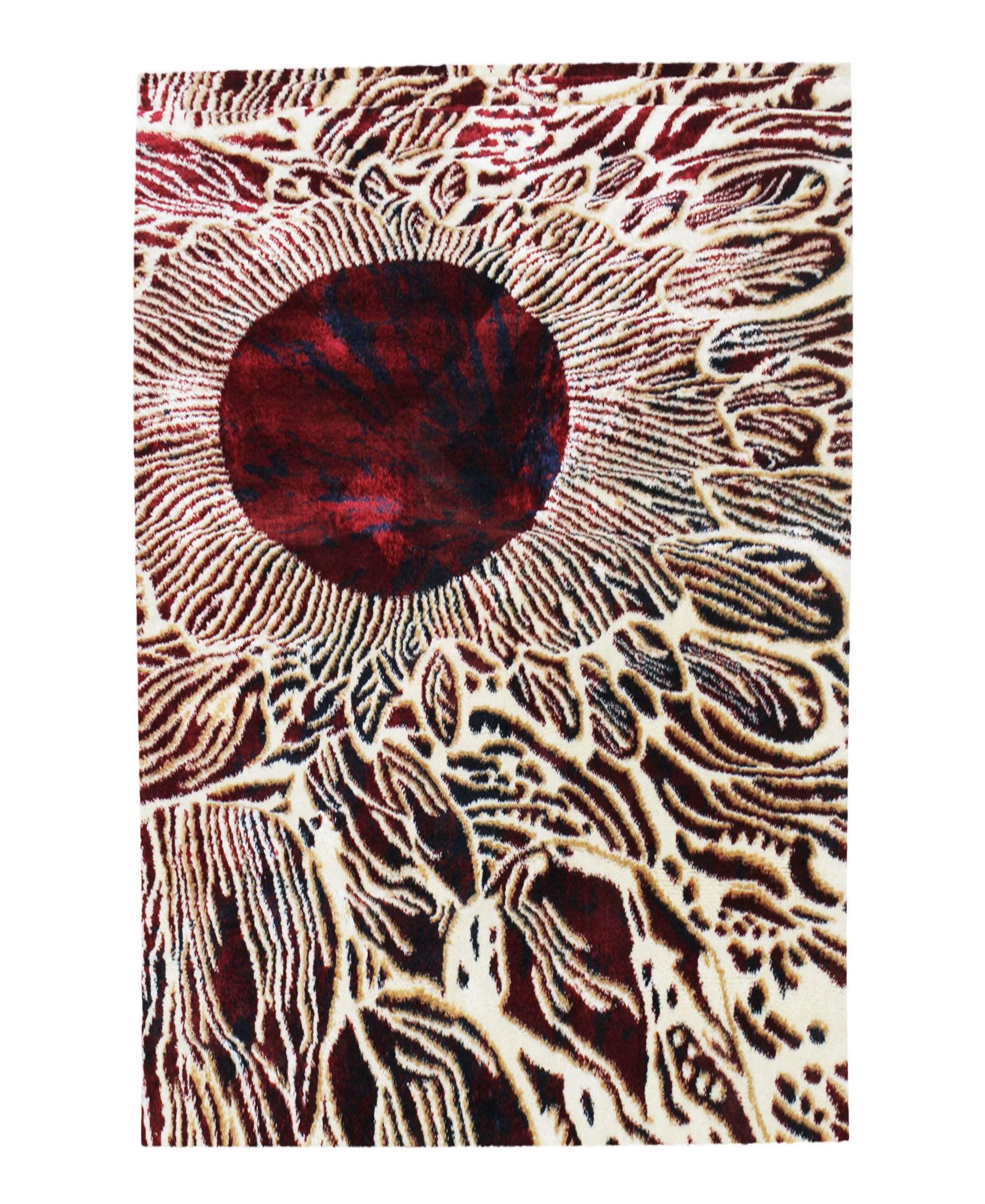 Cape Town Ruby Carpet 1500mm X 2000mm - Red
