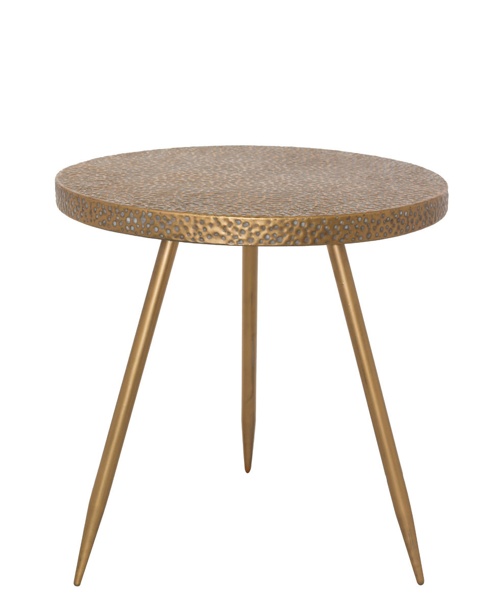 Marilla Side Table 47 x 45cm - Brown
