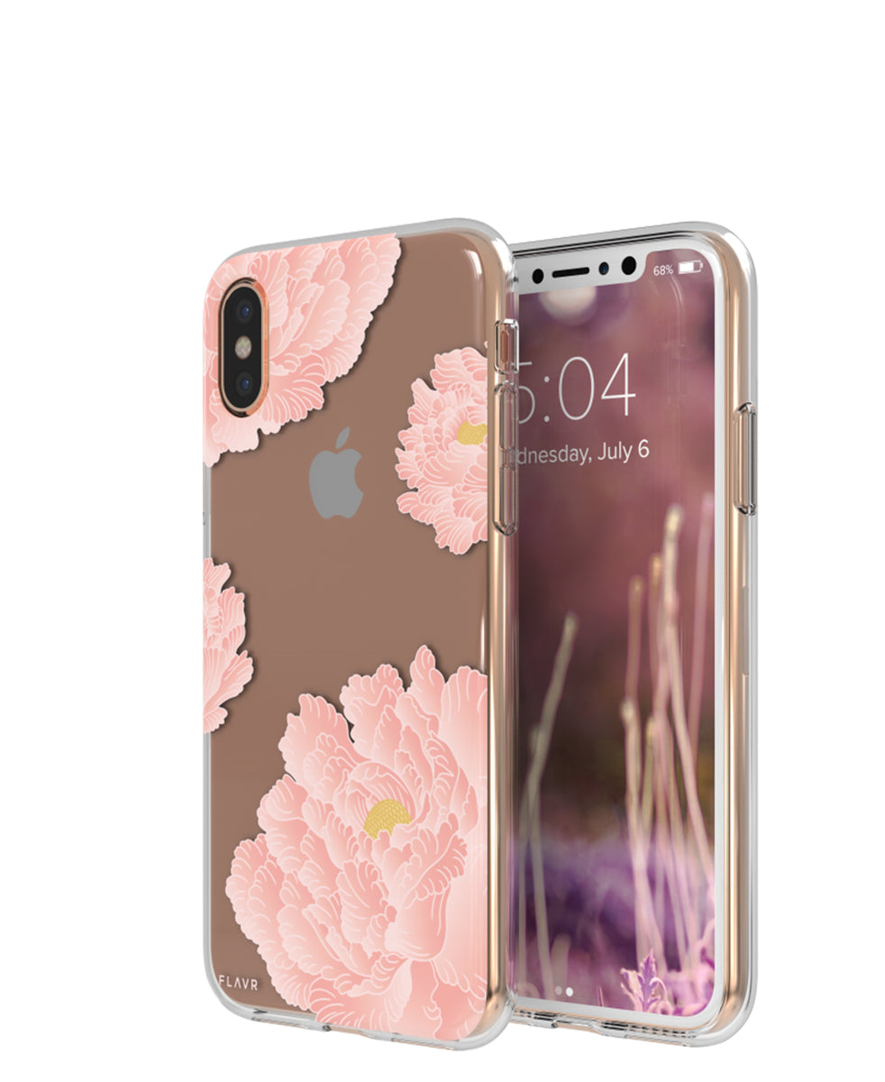 The Culinarium iPhone Cover X 10 - Pink Peonies