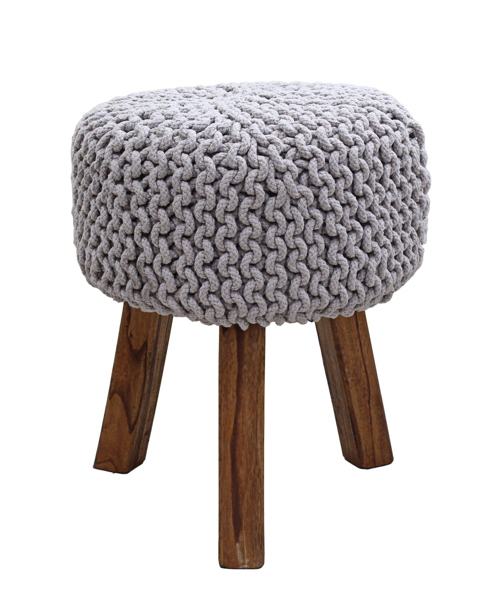 Neo Handmade Stool 470mm - Grey