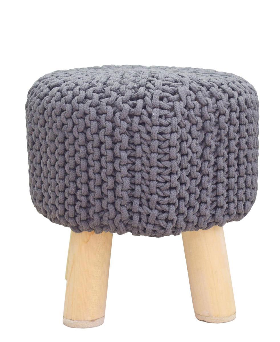 Neo Handmade Stool 340mm - Grey