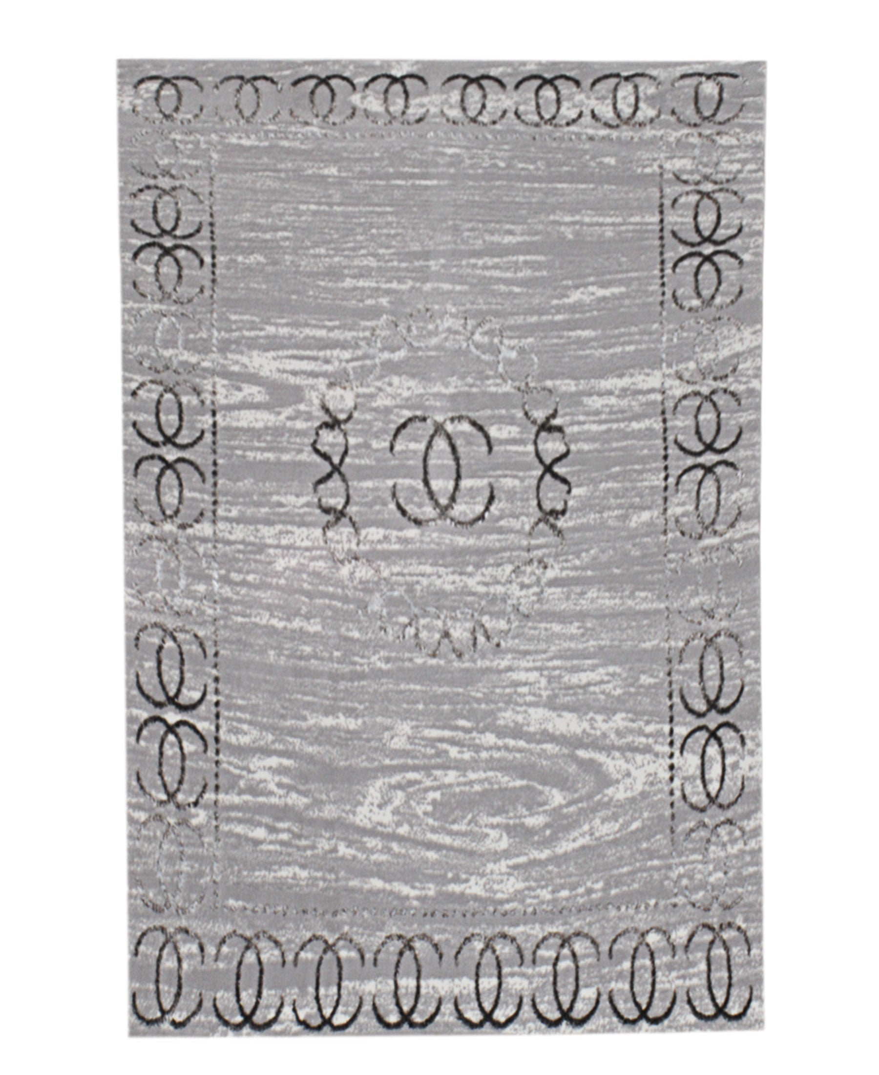 Bodrum Channel Carpet 800mm X 1400mm - Dark Grey