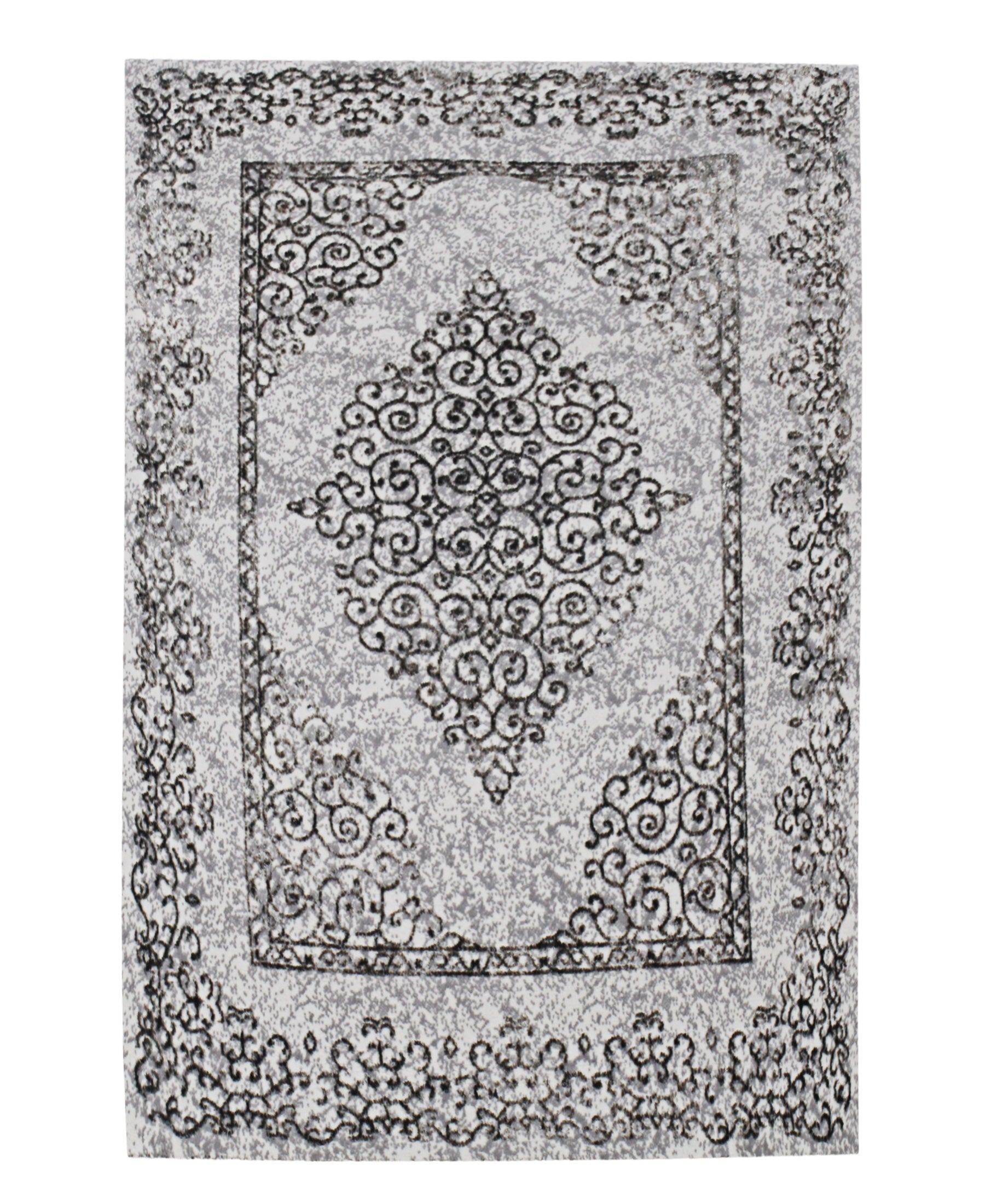 Bodrum Classic Carpet 500mm X 800mm - Dark Grey