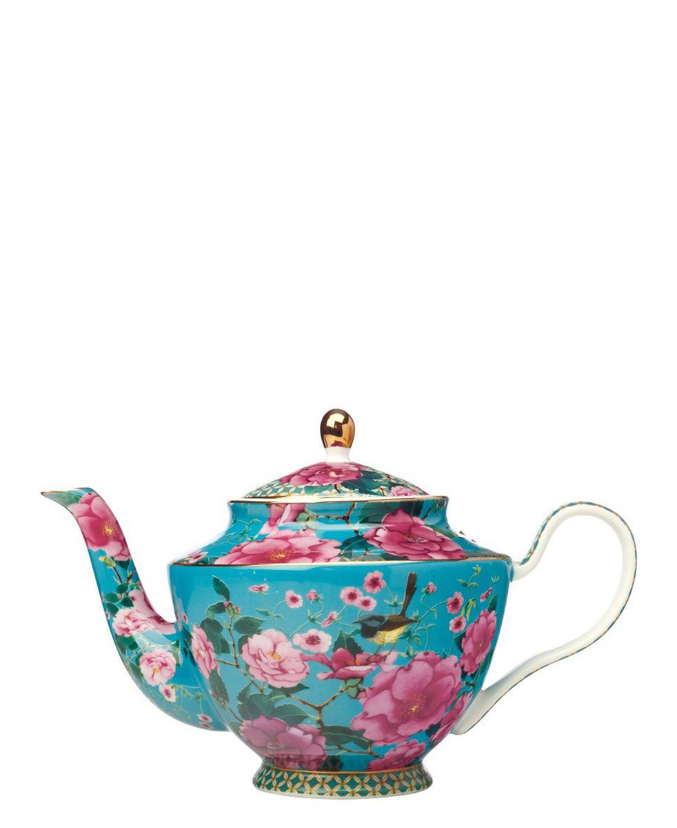 Maxwell & Williams Contessa Teapot With Infuser - Blue