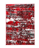 Izmir Night Sky Carpet 1200mm x 1600mm - Red