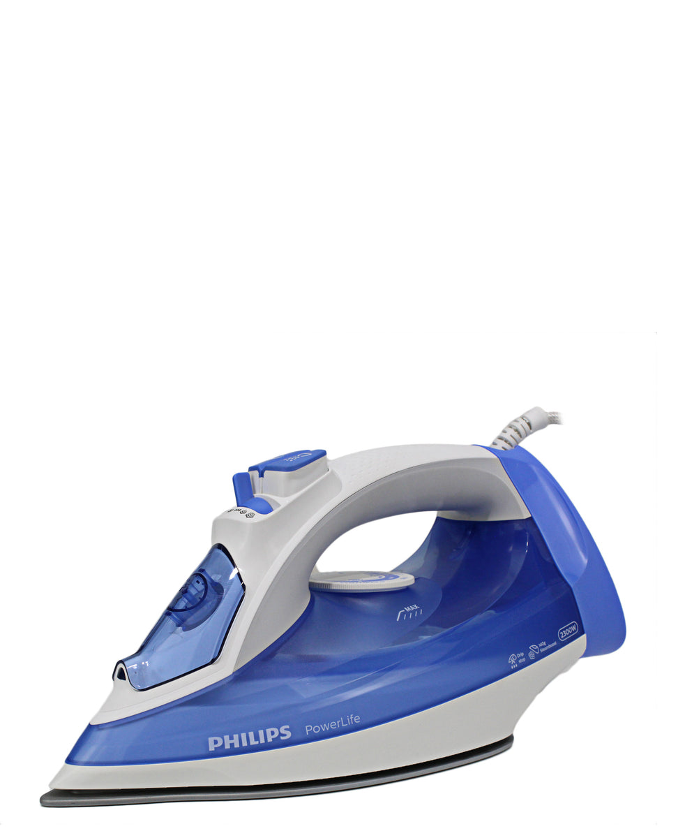 Philips Power Life Steam Iron - Blue