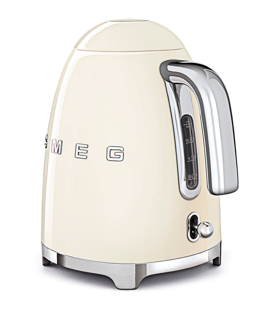 Smeg 1.7LT Kettle - Cream